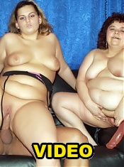 Chubby friends Victoria and Gaborne screw their fat cooters with kinky sex toys live